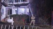 IMAGES: Early morning fire torches Raleigh home