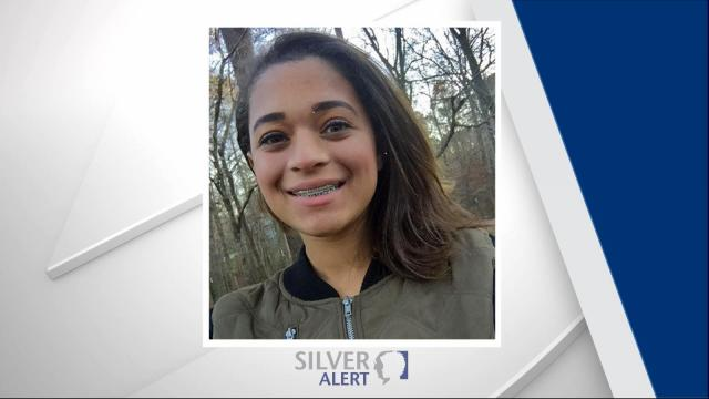 Police said Grace Michelle Barnes, 14, is believed to be suffering from a cognitive impairment and was last seen at 405 Warren Avenue in Cary.