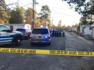 The Cumberland County Sheriff's Office said a deputy was involved in a shooting Wednesday afternoon near Summerwind Drive and Shaw Road.