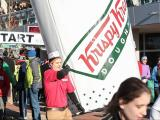 Runners sprint, chow their way through Krispy Kreme Challenge