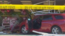 IMAGES: Car crashes into Dollar Tree store in Spring Lake