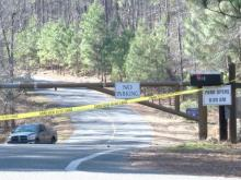 Wake County's Harris Lake County Park was closed to the public Sunday, Feb. 5, 2017, after a burning body was found.