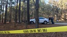 IMAGES: Burning body found at Harris Lake Park