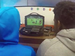 Durham Police hoping to bridge the gap between law enforcement officers and the citizens they serve kicked off Super Bowl Sunday with a little friendly competition: Officer vs. teen in Madden NFL.