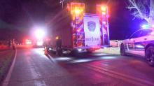IMAGES: Car overturns on Clayton road, killing 1 man