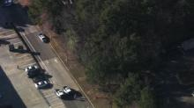 IMAGES: Body found behind Food Lion on Capital Boulevard in Raleigh