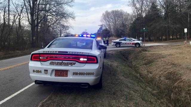 Two Durham police motorcycle officers were involved in a serious crash Tuesday afternoon in the 8500 block of South Lowell Road.