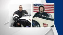 IMAGES: 2 Durham officers, deputy injured in motorcycle crash during training exercise