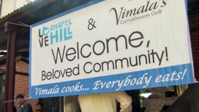 Refugees Welcome at free Chapel Hill lunch
