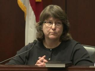 Dr. Lori Lilley, a trauma surgeon at WakeMed, testified Feb. 16, 2017, to injuries to LaTonya Allen in an attack by her ex-husband.