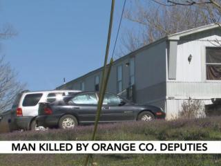 The Orange County Sheriff's Office is investigating after deputies fatally shot a man late Saturday night at a home in Efland.