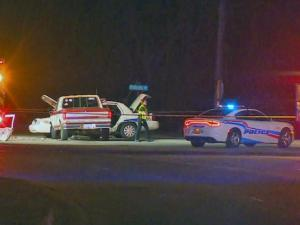 Fayetteville police cruiser involved in wreck