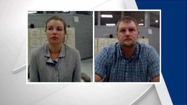 Kirsten and Cameron Alford were both charged with possession of heroin, possession of drug paraphernalia and misdemeanor child abuse. Both had been released on bond Friday.