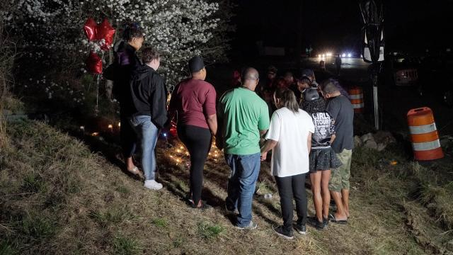 Family holds vigil for 25-year-old killed in crash