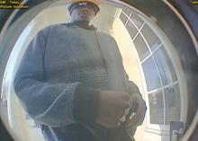 Fayetteville police are asking for the public's help to identify two men suspected of attempting to rob a person Friday evening outside a bank.