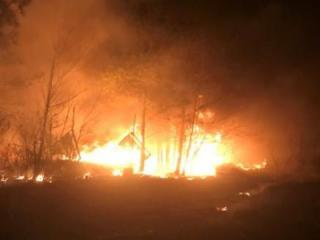 Authorities are investigating after 18 fires were intentionally set in several areas of Robeson County on Saturday.