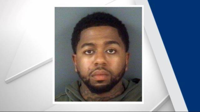 Deputies with the Cumberland County Sheriff's Office were heading to an address in Hope Mills to arrest 28-year-old Harvey Lamar Sangster when they saw his car. Deputies initiated a traffic stop, and Sangster was arrested without incident.