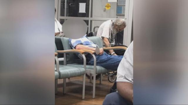 �Absolutely horrible:� Photos show veterans left to wait in pain at Durham VA hospital