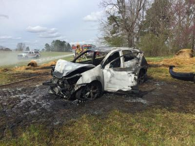 120 mph Nash County chase ends in fiery crash