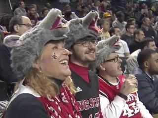 There was a lot of Wolfpack pride in Brooklyn on Tuesday, even after NC State dropped the opening game of the ACC Tournament, 75-61 to Clemson.