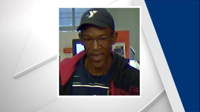 Chapel Hill police are searching for the man who robbed a PNC Bank Tuesday afternoon.