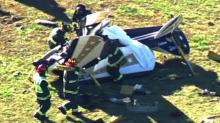 IMAGES: Pilot killed when small plane crashes in Apex airfield