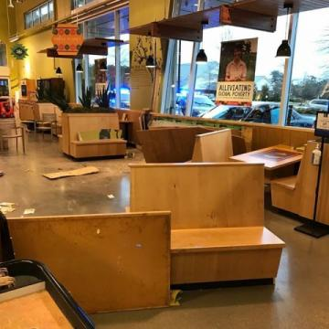 Car into Whole Foods