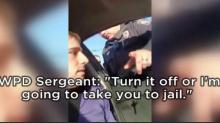 Wilmington officer caught on camera lying about law