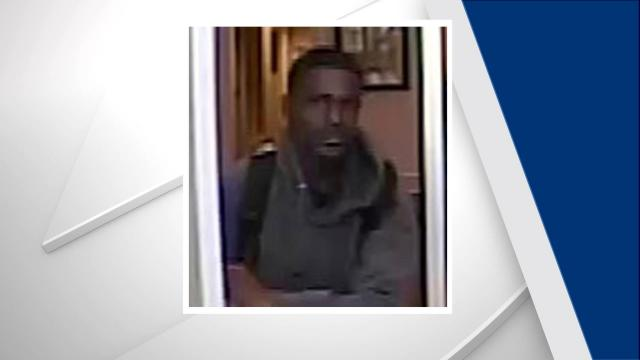 Police are searching for a suspect who robbed a Raleigh bank on Friday morning.