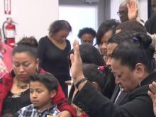 NAACP holds vigil against deportation of a pregnant woman