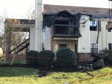 Many displaced by Durham apartment fire