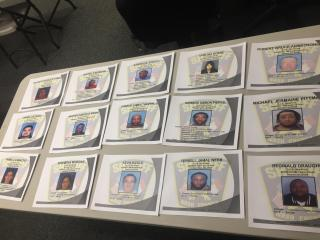 Nash County deputies arrested 15 people and seized drugs, guns, vehicles and more than $416,000 in cash in an investigation into an alleged drug trafficking organization.