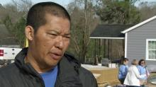 Chapel Hill man gets new home thanks to Habitat for Humanity