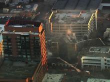 Sky 5 fire aftermath