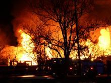 Raleigh fire