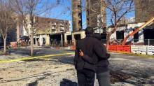 IMAGES: After the fire: Cleanup begins in downtown Raleigh