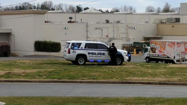 Burlington's Holly Hill Mall evacuated after report of shots fired  Courtesy: WXII