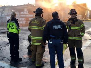 Raleigh police and firefighters are among the groups investigating the cause of the March 16, 2017, fire that engulfed an apartment building under construction and damaged several other buildings downtown.