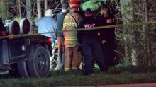 IMAGES: Man dies in Raleigh car crash