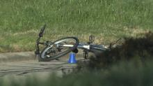 IMAGES: NC State officer in university vehicle struck, killed bicyclist who ran red light