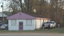 A complete human skeleton was found at an abandoned Roanoke Rapids building Tuesday afternoon.