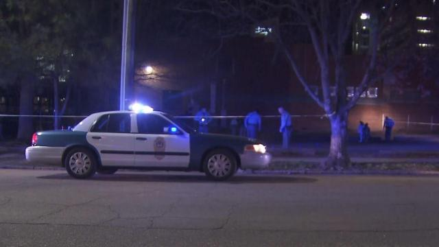 Police investigated a shooting early Friday morning near a downtown Raleigh nightclub.