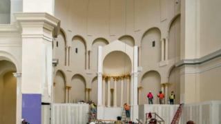 New images show progress of Raleigh cathedral construction