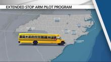 IMAGE: New 6-foot stop arms part of mission to keep students safe