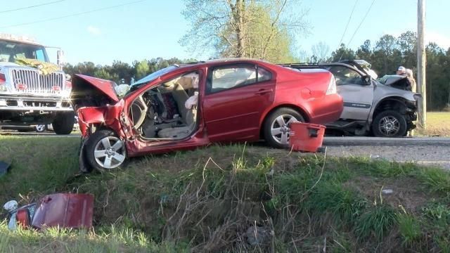 One person died and another was injured Friday evening in a head-on, two-vehicle wreck in Johnston County.