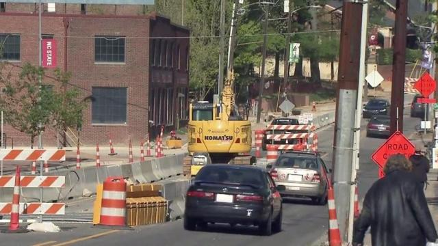 Lane closures hurt Hillsborough Street businesses