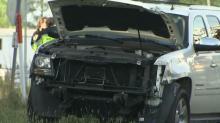 IMAGES: Parents describe panic, question handling of Wake County school bus crash