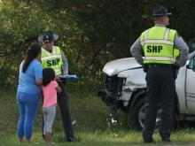 A Wake County school bus carrying 34 students was involved in a crash Wednesday morning.
