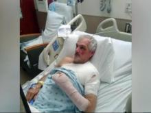 Victim feels sympathy for driver arrested in hit-and-run crash