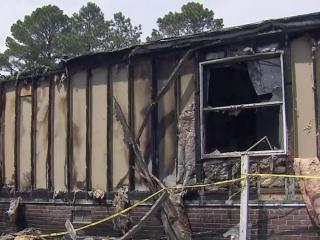 A brush fire that destroyed a barn and home in Sampson County almost wiped out a young man's dream of going to his high school prom.